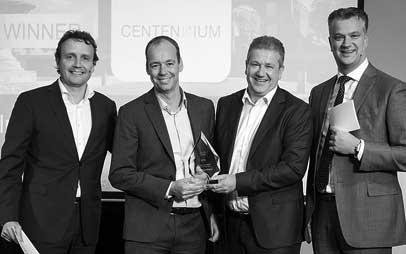 Centennium winnaar Cisco Partner Award in Nederland