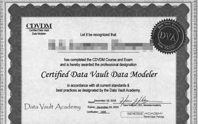 Mijlpaal: 25ste Data Vault certificering voor Centennium