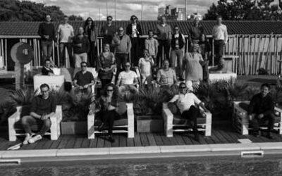 Centennium BI Beachevent 2020: het team na maanden weer bijeen